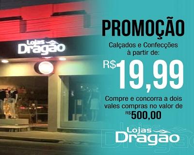 Lojas Dragão Promocional